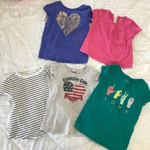 Other - Toddler girls 3t T-shirt lot